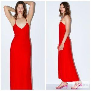 NWT • Zara • Limited Edition • Long Tank Dress